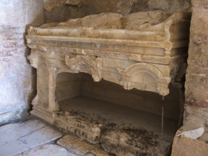 Santa's tomb in Demre
