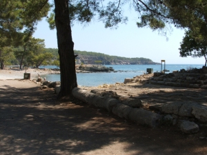 Phaselis harbour