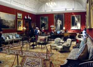 Cluttered Victorian lounge