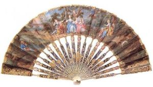 18th century French fan