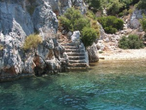 Kekova steps