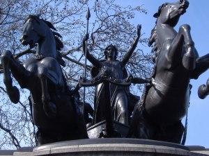 Boadicea statue