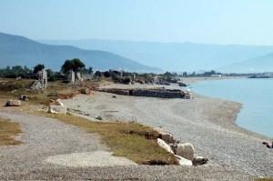 Mediterranean coastline at Anemurium